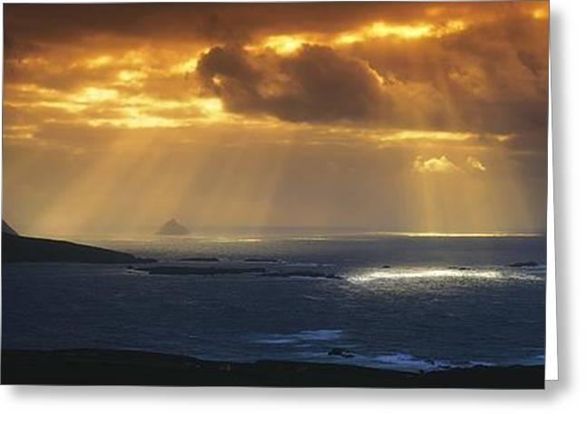 Kenmare Bay, Dunkerron Islands, Co Greeting Card