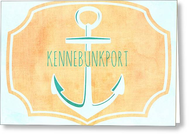 Kennebunkport Sea Anchor Greeting Card