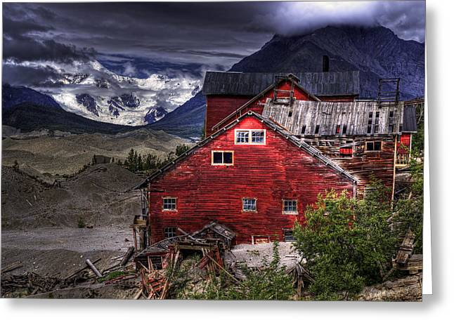 Kennecott Mine  Greeting Card