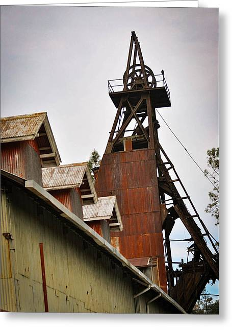 Kennedy Mine Headframe Greeting Card