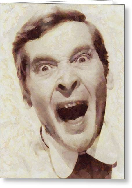 Kenneth Williams, Carry On Actor Greeting Card