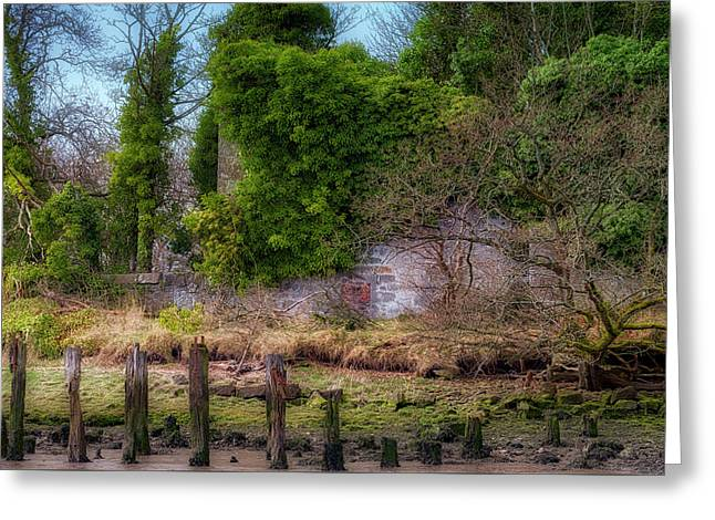Greeting Card featuring the photograph Kennetpans Distillery Ruins by Jeremy Lavender Photography