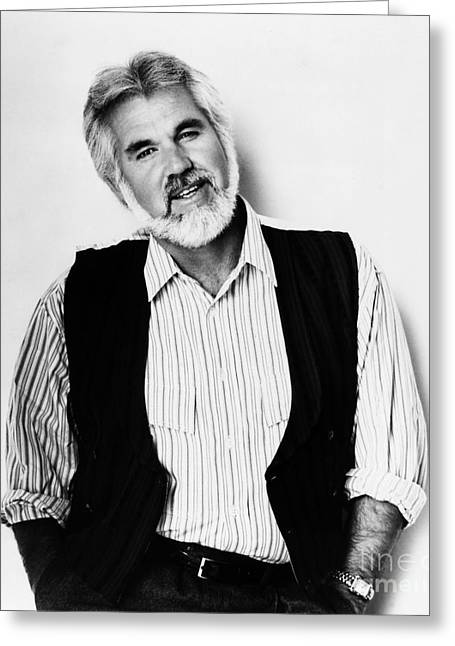 Kenny Rogers (1938-) Greeting Card by Granger