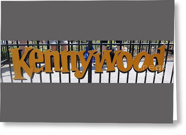 Kennywood Amusement Park - Pittsburg, Pennsylvania Greeting Card