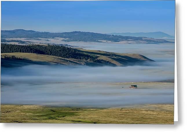Kenosha Pass Clouds Greeting Card