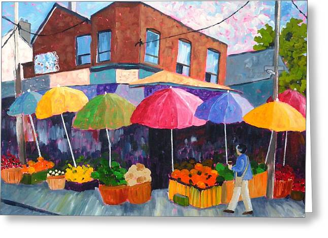 Kensington Market Greeting Card