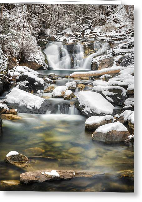 Kent Falls Cascade 2016 Greeting Card by Bill Wakeley