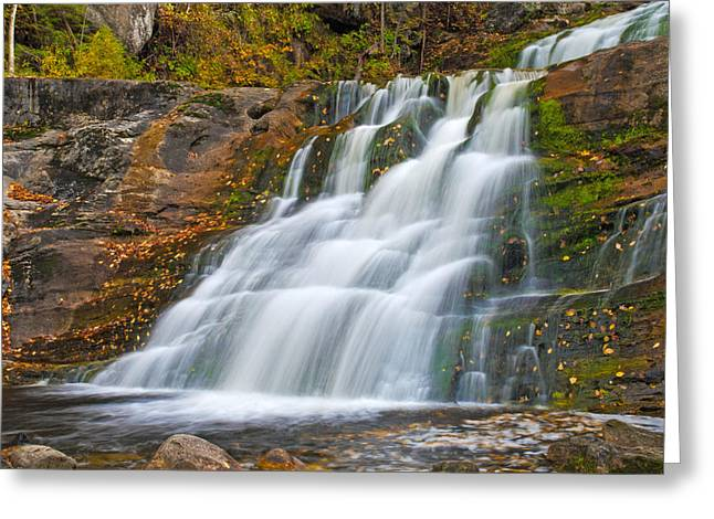 Kent Falls State Park Greeting Cards - Kent Falls Greeting Card by David Freuthal
