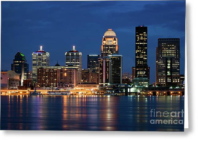 Greeting Card featuring the photograph Kentucky Blue by Andrea Silies