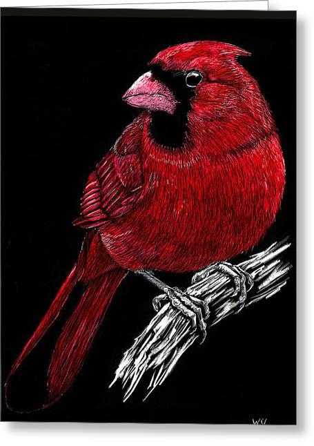 Kentucky Cardinal Greeting Card