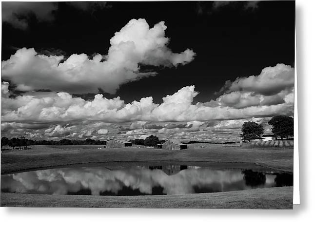 Kentucky Clouds Greeting Card by Keith Bridgman