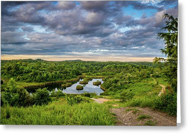 Kentucky Hills And Lake Greeting Card