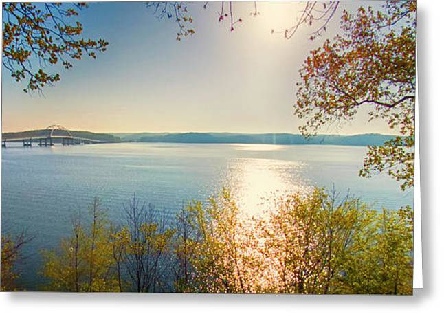 Kentucky Lake Greeting Card by Ricky L Jones