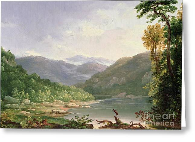 Kentucky River Greeting Card by Thomas Worthington Whittredge