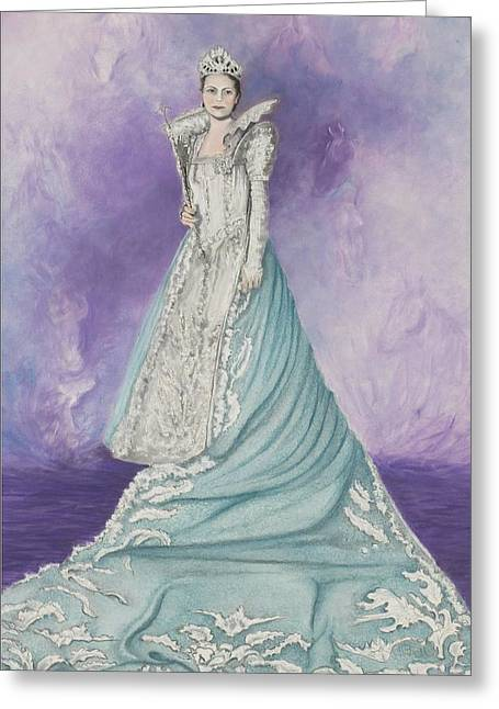 Royalty Pastels Greeting Cards - Kentucky Royalty Greeting Card by Lisa Bell