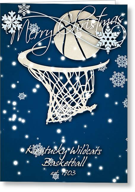 Kentucky Wildcats Christmas Card Greeting Card