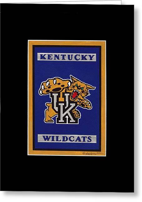 Ky Wildcats Logo T-shirt Greeting Card