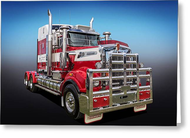 Kenworth Greeting Card