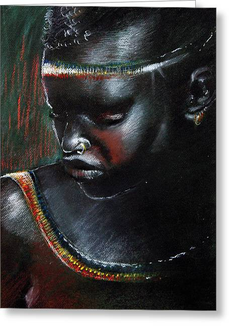 Kenya Beauty Greeting Card