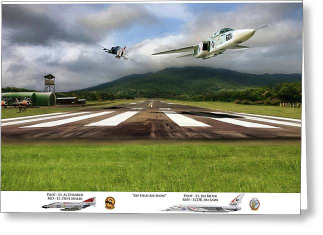 Kep Field Air Show Greeting Card
