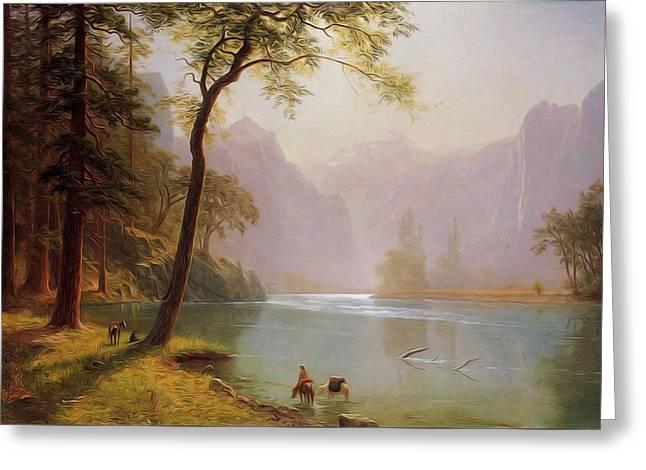 Kern S River Valley California Greeting Card