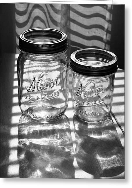 Kerr Jars Greeting Card by Steve Augustin