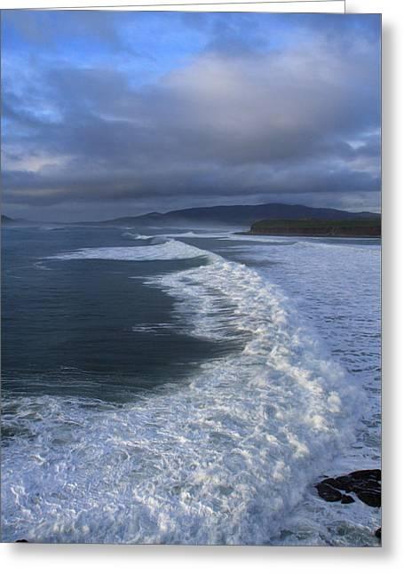 Kerry Coast, Ireland Greeting Card by Aidan Moran