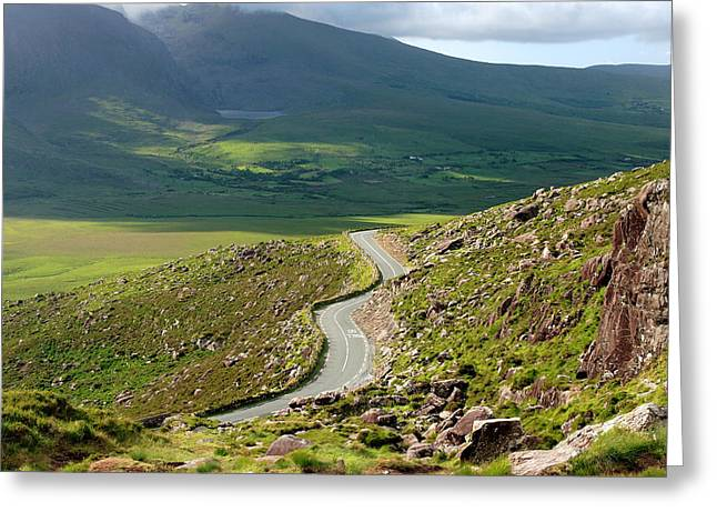 Kerry Road Ireland Greeting Card by Pierre Leclerc Photography