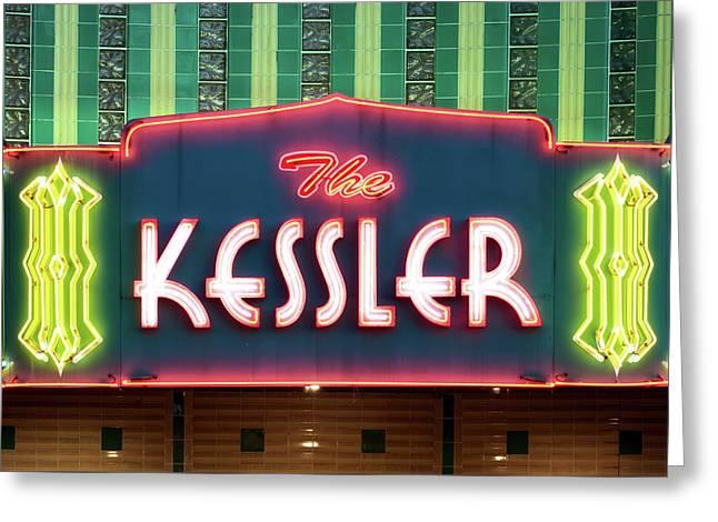 Kessler Theater 042817 Greeting Card