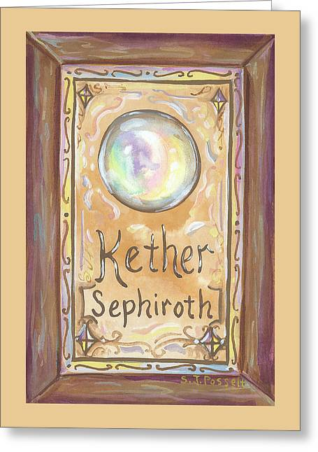 Kether Greeting Card