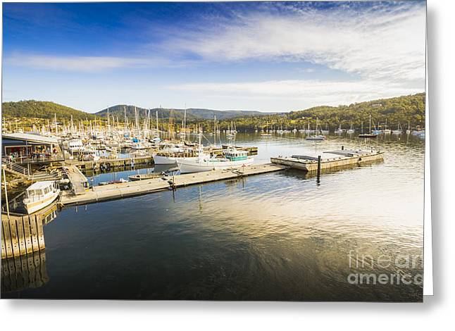 Kettering Boat Harbour Greeting Card