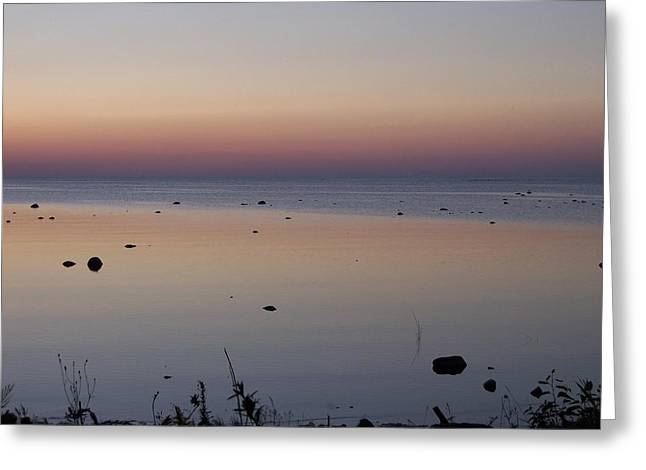 Kettle Point Sunset Greeting Card