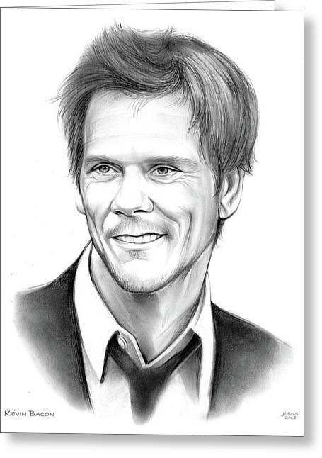 Kevin Bacon Greeting Card