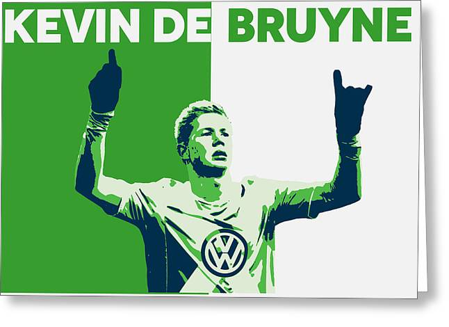 Kevin De Bruyne Greeting Card