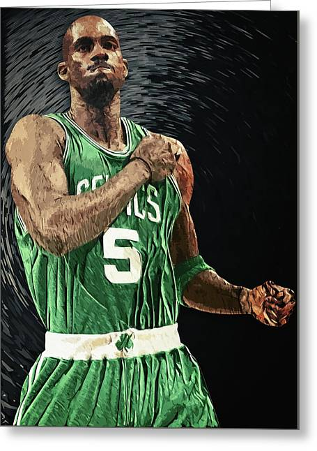 Kevin Garnett Greeting Card