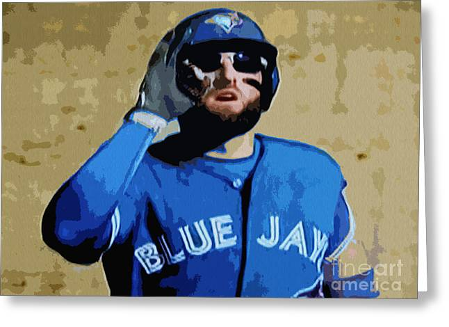 Kevin Pillar Greeting Card