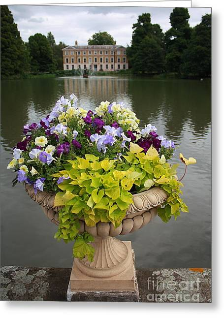 Kew Gardens Scene Greeting Card
