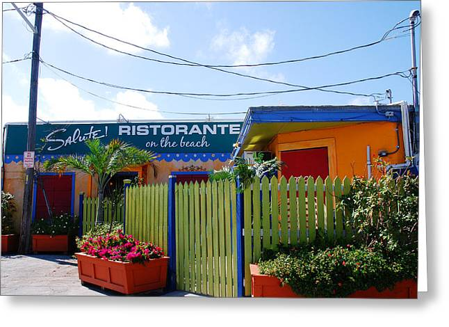 Key West Colors Greeting Card by Susanne Van Hulst