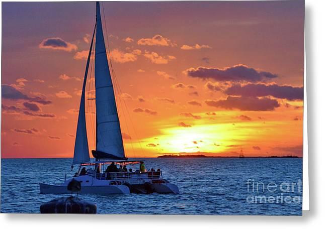 Key West Magic Greeting Card