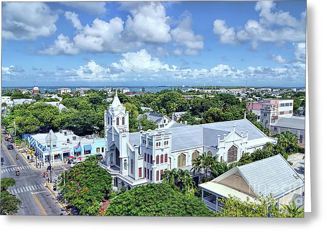 Greeting Card featuring the photograph Key West by Olga Hamilton