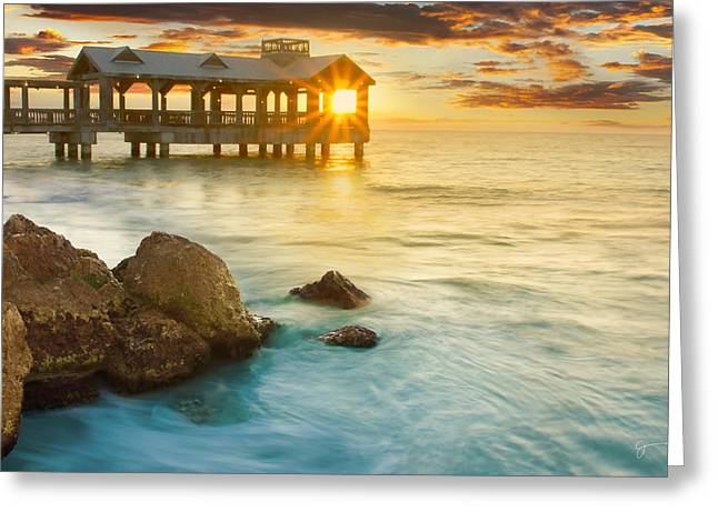 Key West Sunrise - Craigbill.com - Open Edition Greeting Card