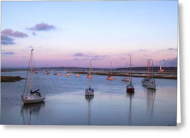 Keyhaven Salt Marshes - England Greeting Card