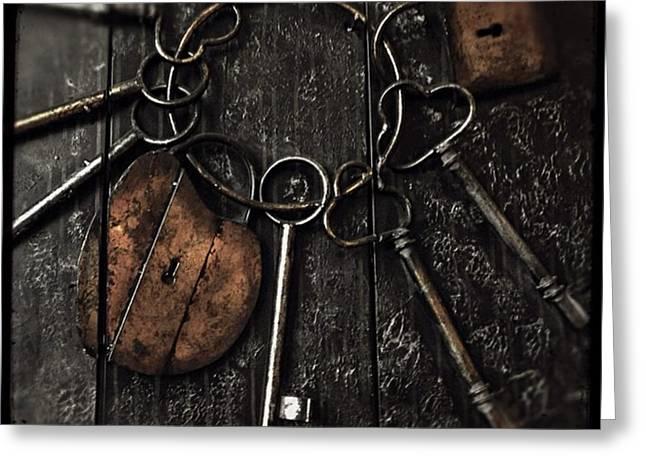 #keys #artistic #artwork #interiors Greeting Card