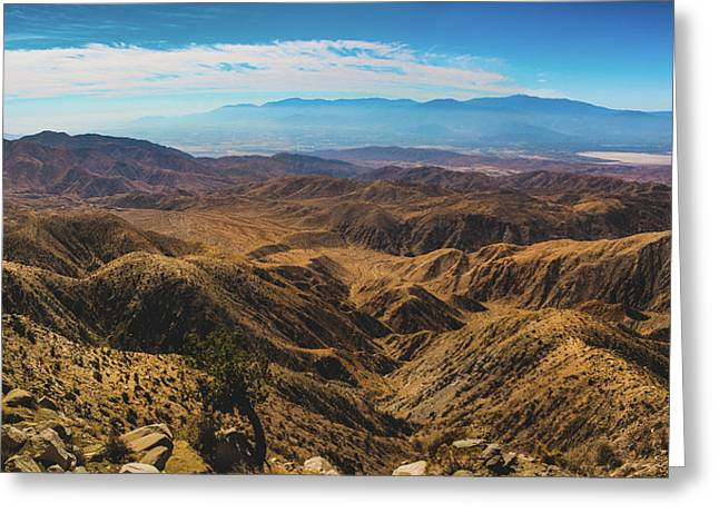 Keys View Overlook Panorama Greeting Card