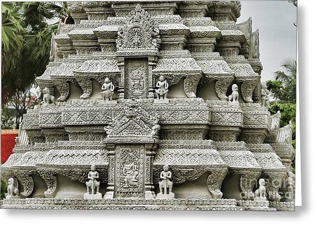 Khmer Architecture  Greeting Card