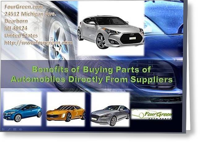 Kia Auto Parts In The Usa  Directly From Suppliers Greeting Card