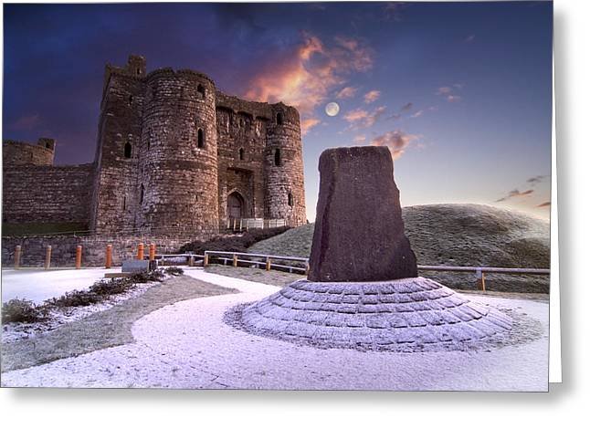 Kidwelly Castle 2 Greeting Card