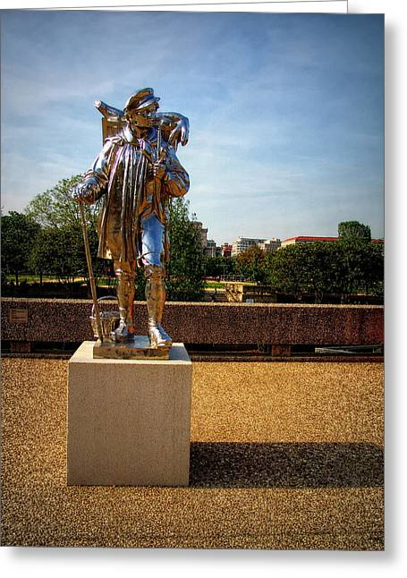 Kiepenkerl - Washington D. C. Greeting Card by Glenn McCarthy Art and Photography