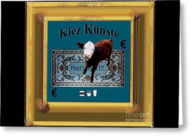 Kiez Kunste Greeting Card