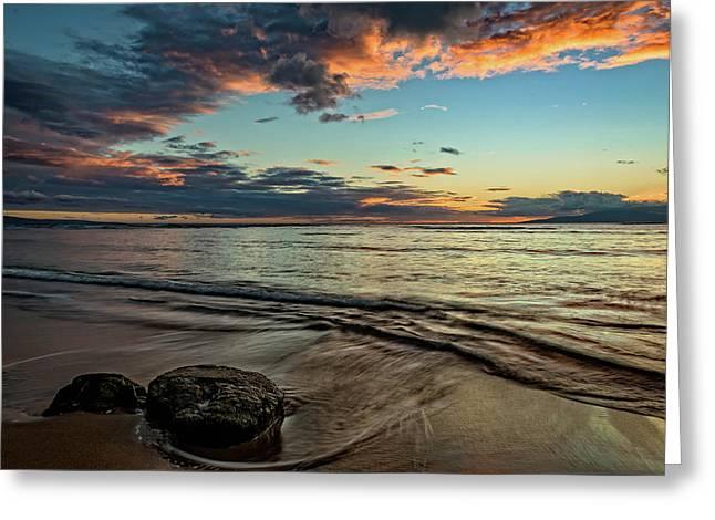 Kihei, Maui Sunset Greeting Card